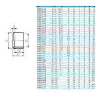 EFFAST Редукційний кільце EFFAST d110x63 мм (RDRRCD110G), фото 2