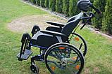 Инвалидная коляска Alu Rehab Netti 4U 40cm, фото 2