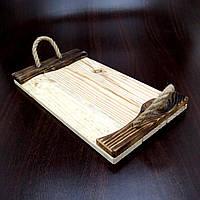 """Поднос деревянный """"Ставело"""" бланже-мустанг"""