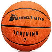 Баскетбольный мяч Meteor Cellular размер №7, оранжевый, фото 1