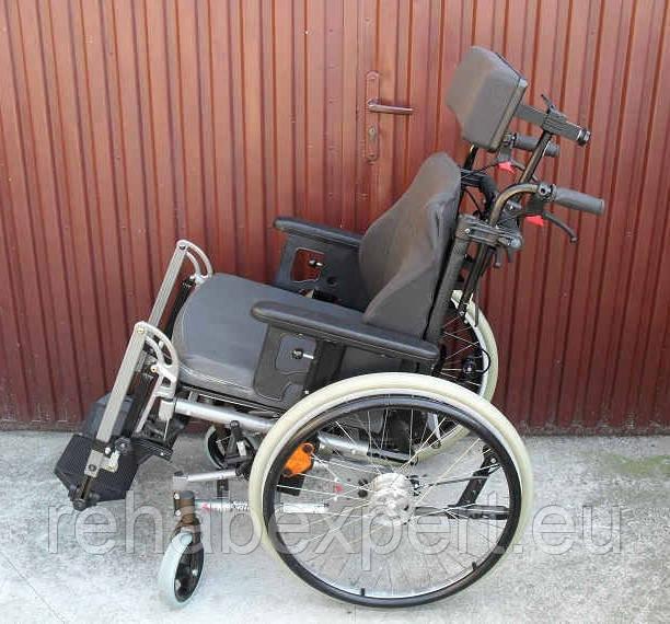 Многофункциональная инвалидная коляска ALU REHAB netti 4U Wheelchair 47cm