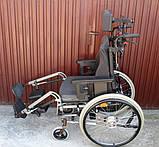 Многофункциональная инвалидная коляска ALU REHAB netti 4U Wheelchair 47cm, фото 4