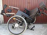 Многофункциональная инвалидная коляска ALU REHAB netti 4U Wheelchair 47cm, фото 5