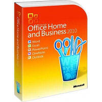 Microsoft Office 2010 Home and Business 32-bit/x64 Russian DVD BOX (T5D-00412)