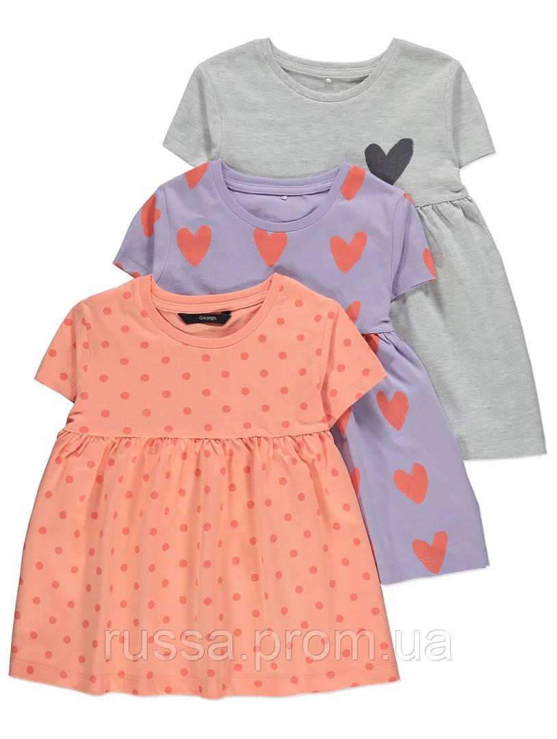 Стильные летние футболки для девочки Джордж (поштучно)