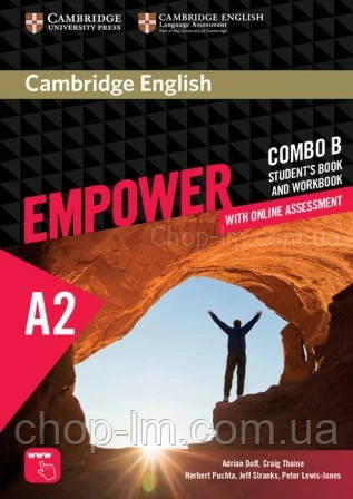 Учебник и рабочая тетрадь Cambridge English Empower A2 Elementary Combo B Student's Book and Workbook