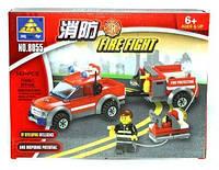 Конструктор KAZI Fire Fight 143 элемента, пластик, 6+ 8055