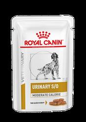 Вологий корм Royal Canin Urinary S/O Moderate Calorie Роял Канiн Урiнарi С/О низькокалорійний 100 гр