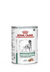 Консервований корм Royal Canin Diabetic Special Low Carbohydrate Роял Канiн Дiабетик Спешл 410 гр