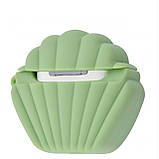 Чехол Sea Shell Case for Airpods green, фото 2