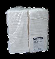 Салфетки бумажные белые упаковка 400 шт., 240*240 мм.