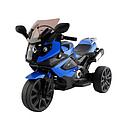 Детский трехколесный электромотоцикл Moto Sport LQ168 А синий, фото 2