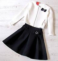 Детский костюм юбка+пиджак р.128-152 Марианна, фото 1