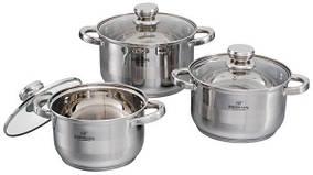 Набор посуды ( Набор кастрюль ) 6 предметов Bohmann 06-375 ВН