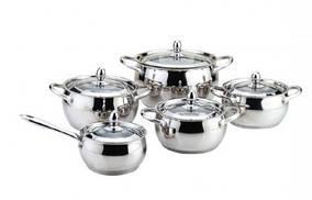 Набор посуды ( Набор кастрюль ) 10 предметов MR 3509