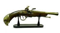 Оружие сувенирное: пистоль-зажигалка, рукоятка с орлом (ос-69)