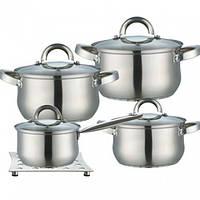 Набор кастрюль Кастрюли ( Набор посуды ) из 9 предметов MR 2021