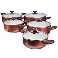 Набор посуды (Набор кастрюль) 10 пр. Hilton FP 2461