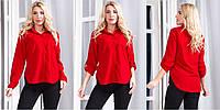 Жіноча блуза з рукавами трансформерами , 8 кольорів  .Р-ри 44-48