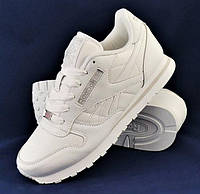 Мужские Кроссовки Reebok Classic Белые White 44,46 размеры