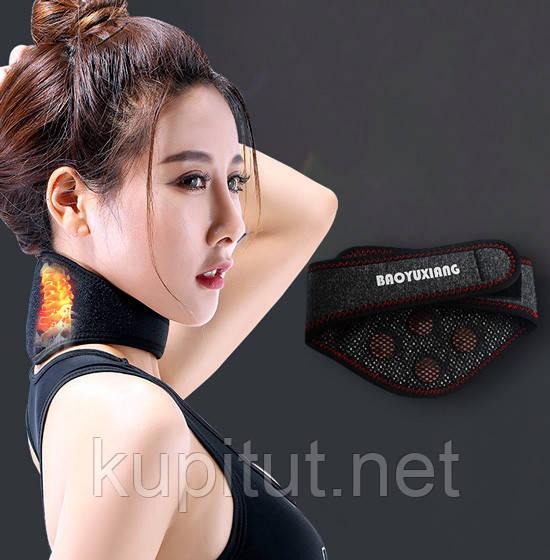 Накладка турманиевая на шею с прогреванием 2 в 1 (Baoyu Xiang)