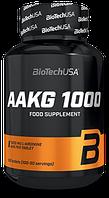 Аргинин BioTech - AAKG 1000 мг (100 таблеток)