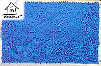 Коврик для ванной комнаты Коралл 60*90 см (синий)