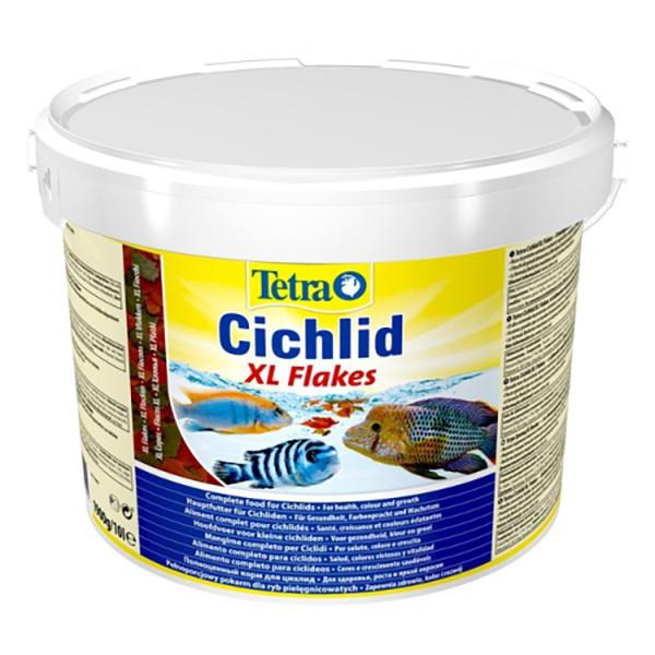 Корм для рыб Tetra Cichlid XL Flakes 10 л/ 1,9 кг 201415