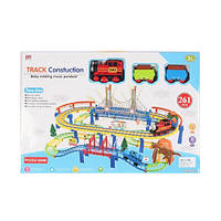 Железная дорога, поезд, машинка, дорожные знаки, звук, свет, 261 предмет, PYK5