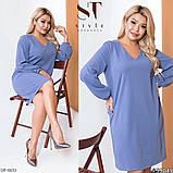 Стильное платье   (размеры 48-62) 0237-14, фото 2