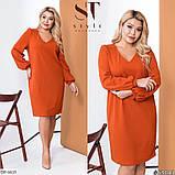 Стильное платье   (размеры 48-62) 0237-14, фото 3