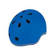 Шлем защитный 45-51см синий детский GLOBBER EVO LIGHTS с фонариком (XXS/XS)