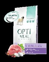 Сухой корм OPTIMEAL  для взрослых собак малых пород УТКА 12 кг.