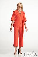 Стильный женский  костюм  из жакета и брюк Lesya Аспен.