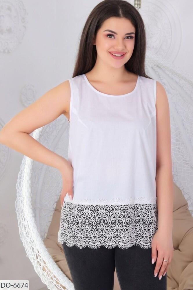 Нарядная блуза   (размеры 48-62) 0237-19