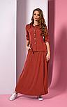 Стильний костюм з жакета-блузону і максі спідниці Style-nika Манхеттен., фото 2