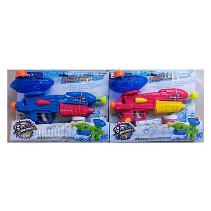 """Мыльные пузыри """"Пистолет"""", запаска, 2 цвета, MB013, фото 2"""