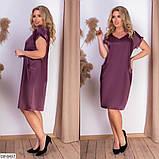 Стильное платье   (размеры 50-56) 0237-27, фото 2