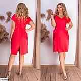Стильное платье   (размеры 50-56) 0237-27, фото 3