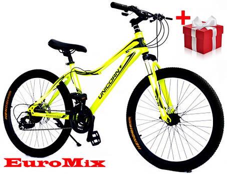 "Велосипед Unicorn - smart rider 24"" размер рамы 15"", фото 2"
