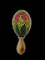 Маракас деревянный цветной мини длина 13 см