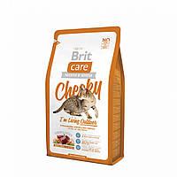 Brit Care Cat 2 kg Cheeky I am Living Outdoor (д/кошек живущих на улице) арт.132613 /5678