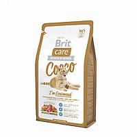 Brit Care Cat 2 kg Cocco I am Gourmand (д/привередливых кошек) арт.132628 /5760