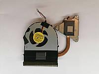Б/У радиатор ( система охлаждения ) + кулер для ноутбука Lenovo B570 B575 (60.4PN07.002)