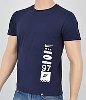 Мужская футболка Nike(реплика) Синий, фото 1