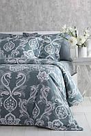 Комплект постельного белья 200x220 PAVIA CARLOTTE(GREEN) зеленый