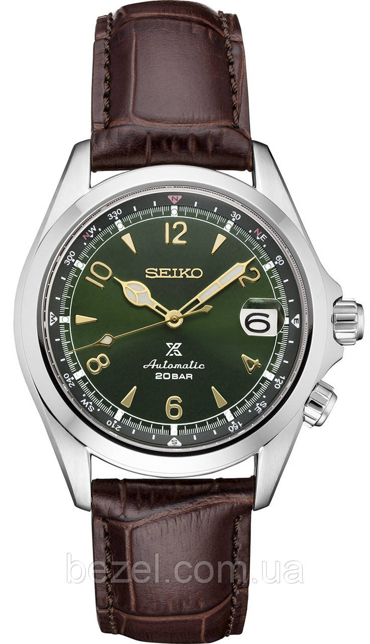 Мужские часы Seiko SPB121 SPB121J1 SBDC091 Automatic Alpinist Альпинист   НОВЫЙ АЛЬПИНИСТ