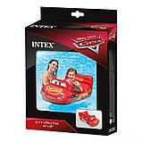 Детский надувной плотик для катания Intex 58392 Машина Тачки, 109 x 71 см, фото 3