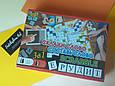 Игра настольная Эрудит Scrabble 3 в 1 для детей и взрослых, фото 5
