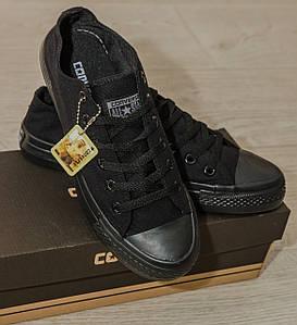 Кеды Converse Style All Star 2 Черные низкие (36р) Тотальная распродажа